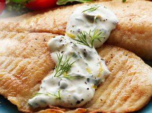 طعم فوقالعاده ماهی با سس تارتار