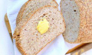 نان کتویی بدون تخم مرغ
