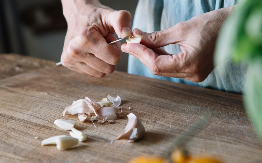 درمان کبد چرب با سیر