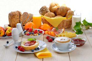 صبحانه برای کاهش وزن